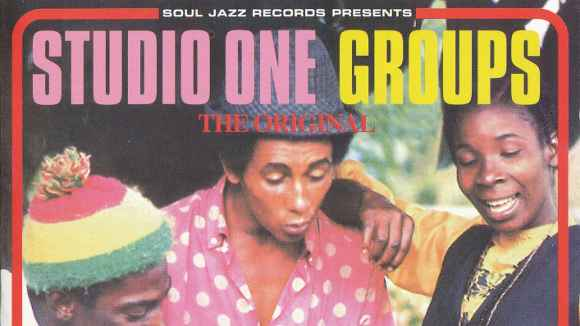 "Soul Jazz ""Studio One Groups"" Cover"