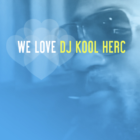 Cover der Compilation We Love DJ Kool Herc
