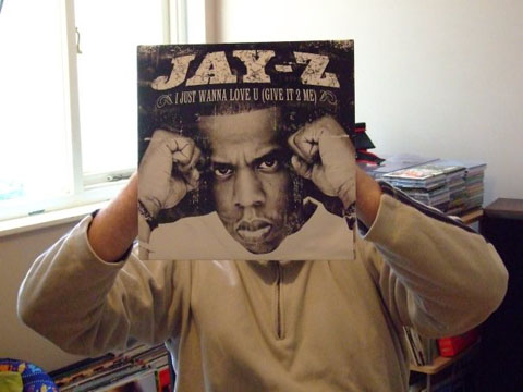 Jay-Z Vinyl Sleeve Head
