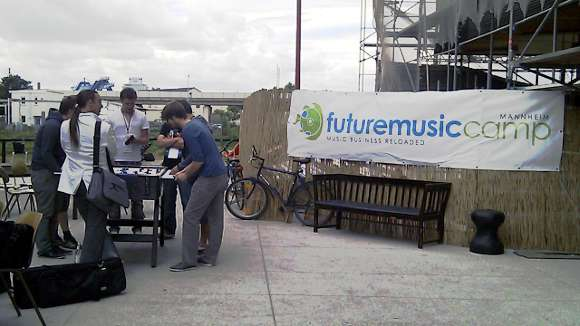Foto vom Future Music Camp