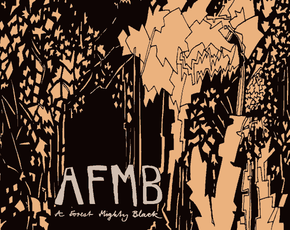 Albumcover A Forest Mighty Black